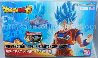 Dragonball Super Saiyan God Super Son Gokou Model Kit