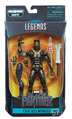 Marvel Legends Black Panther 6-Inch Erik Killmonger Action Figure
