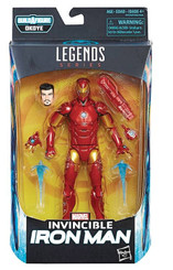 Marvel Legends Black Panther 6-Inch Invincible Iron Man Action Figure