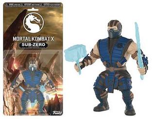 Mortal Kombat Sub-Zero 5.5-Inch Action Figure