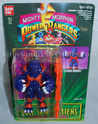 Mighty Morphin Power Rangers Evil Space Aliens: Clawing Dramole Action Figure, Not Mint