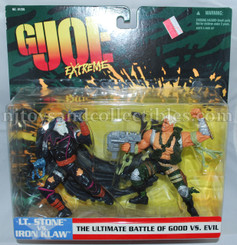 GI Joe Extreme Two Pack: Lt. Stone vs Iron Klaw Action Figures