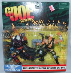 GI Joe Extreme Two Pack: Lt. Stone vs Iron Klaw Action Figures