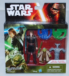 Star Wars Episode 7 Mission Series 2-Pack Wave 2: Anakin Skywalker and Yoda