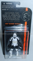 Star Wars Black Series Orange Line Biker Scout 3.75-Inch Action Figure