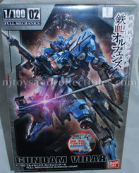 Gundam Master Grade: Gundam Vidar IBO Full Mechanics Model Kit
