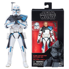 Star Wars Black Series 6-Inch Captain Rex Action Figure