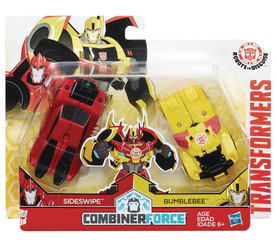 Transformers Crash Combiners Bumblebee & Sideswipe Action Figure 2-Pack