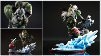 Hulk - Thor: Ragnarok Q-Fig MAX Diorama