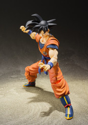 DragonBall Z Son Goku -A Saiyan Raised On Earth S.H.Figuarts