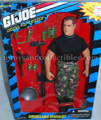 GI Joe Hall of Fame 12-Inch Surveillance Specialist Action Figure