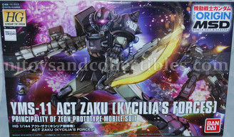 Gundam High Grade: YMS-11 ACT Zaku (Kycilia's Forces) Model Kit
