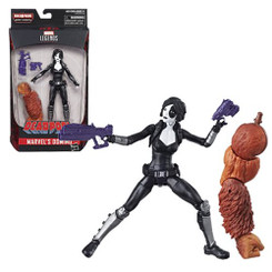 Marvel Legends Deadpool Wave 1: Domino 6-Inch Action Figure