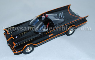 Diecast Metal Vehicle: Classic TV Batmobile with Pull Back Action