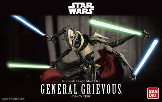 Star Wars General Grievous Bandai Star Wars Character Model Kit