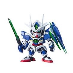 Gundam Super Deformed: 00 QAN[T] Gundam 00 Model Kit