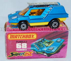 Matchbox #68 Cosmobile Superfast Diecast Vehicle