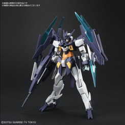 Gundam High Grade: Gundam Age-2 Magnum Gundam Build Divers