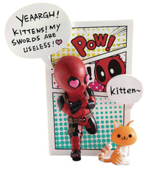 MARVEL COMICS DEADPOOL JUMP OUT KITTEN PX FIGURE