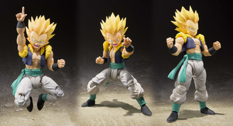 Dragonball SH Figuarts Super Saiyan Gotenks and Ghost Action Figure