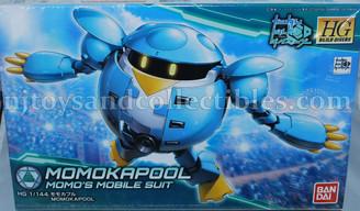Gundam High Grade: Build Divers MomoKapool Model Kit