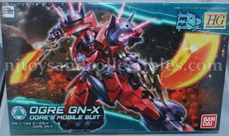 Gundam High Grade: Build Divers Ogre GN-X Model Kit