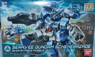 Gundam High Grade: Build Divers Seravee Gundam Scheherazade Model Kit