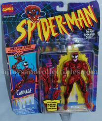 Marvel Spiderman Animated Series Carnage Action Figure