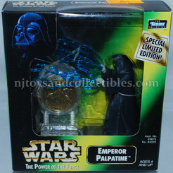 Star Wars POTF2 Millennium Emperor Palpatine with Coin