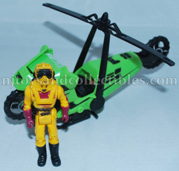 M.A.S.K. Series 1 Condor Vehicle with Pilot