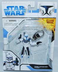 Star Wars Clone Wars Captain Rex Figure Keychain