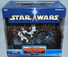 Star Wars A New Hope Death Star Trash Compactor Playset