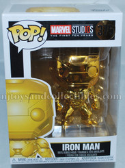 Funko Pop! Marvel Studios Golden Iron Man Vinyl Figure #375
