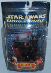 Star Wars Unleashed Darth Maul Action Figure