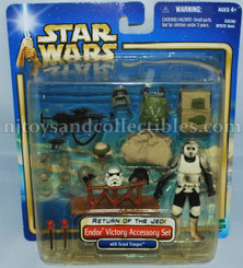 Star Wars Endor Victory Accessory Set with Scout Trooper