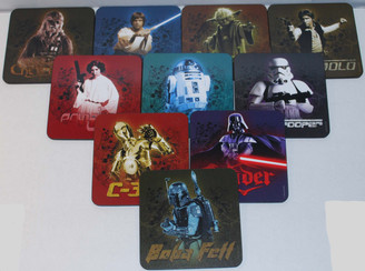 Star Wars Drink Coaster 10-pk with Tin Box