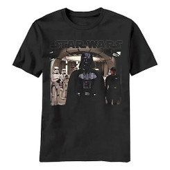 Star Wars T-Shirt: Darth Vader Ready for Battle T-shirt