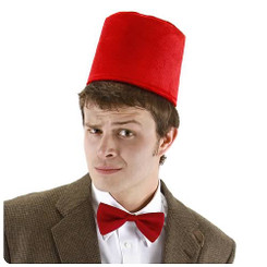 Doctor Who 11th Doctor Fez Hat & Bowtie Kit