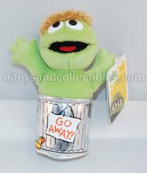 Sesame Street Beanbag Pals: Oscar the Grouch 6-Inch Plush