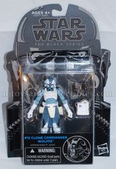 Star Wars Black Series 3.75-Inch Wave 7: Clone Commander Wolffe Action Figures