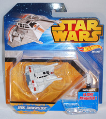 Star Wars Hot Wheels Starships: Rebel Snowspeeder