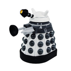 Doctor Who 6.5-Inch Vinyl Action Figure: Paradigm Dalek White Supreme