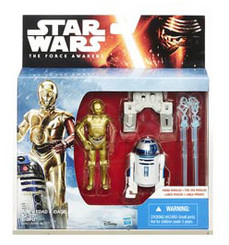 Star Wars Episode 7 Mission Series 2-Pack Wave 2: R2-D2 and C-3PO