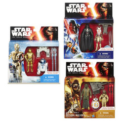 Star Wars Episode 7 Mission Series 2-Pack Wave 2 Case