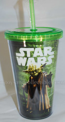 Star Wars 18oz Yoda Acrylic Travel Cup