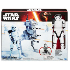 Star Wars Episode 7 Hero Series 12-Inch Vehicles Wave 1: Assault Walker with Stormtrooper