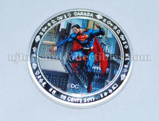 Superman 0.9999 Silver Clad Commemorative Coin