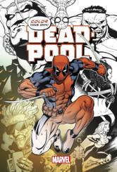 Deadpool: Color Your Own Deadpool Sketch Book