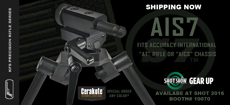 Accuracy International S7 Bipod