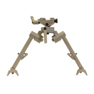 "Flat Dark Earth 7""-9"" S7 FDE Bipod with Raptor Claws"